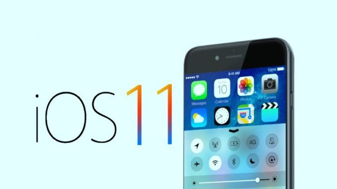 ios 11 with iPhone 8