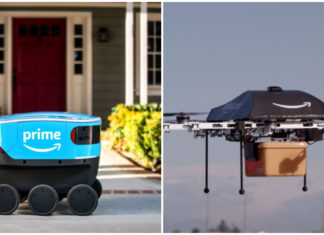 amazon prime air and amazon scout